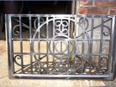Fancy Welded Steel Gate
